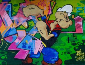 popeye and spinach