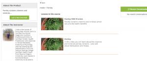 parsley health benefits minerals