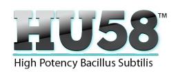 HU58 High Potency Bacillus Subtilit