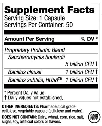 RestorFlora ingredients